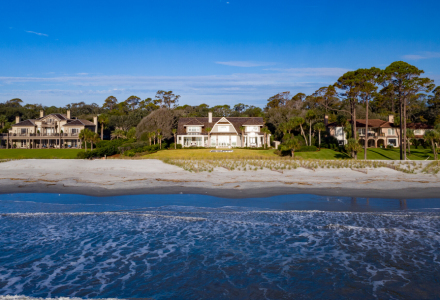 Ocean Front Luxury Home Sea Island